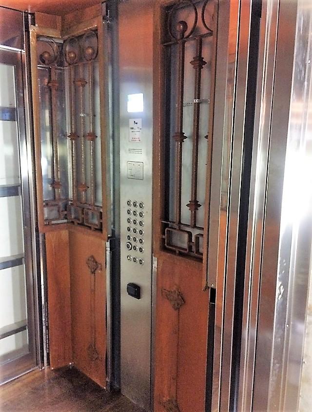 Hissinredning panelsida