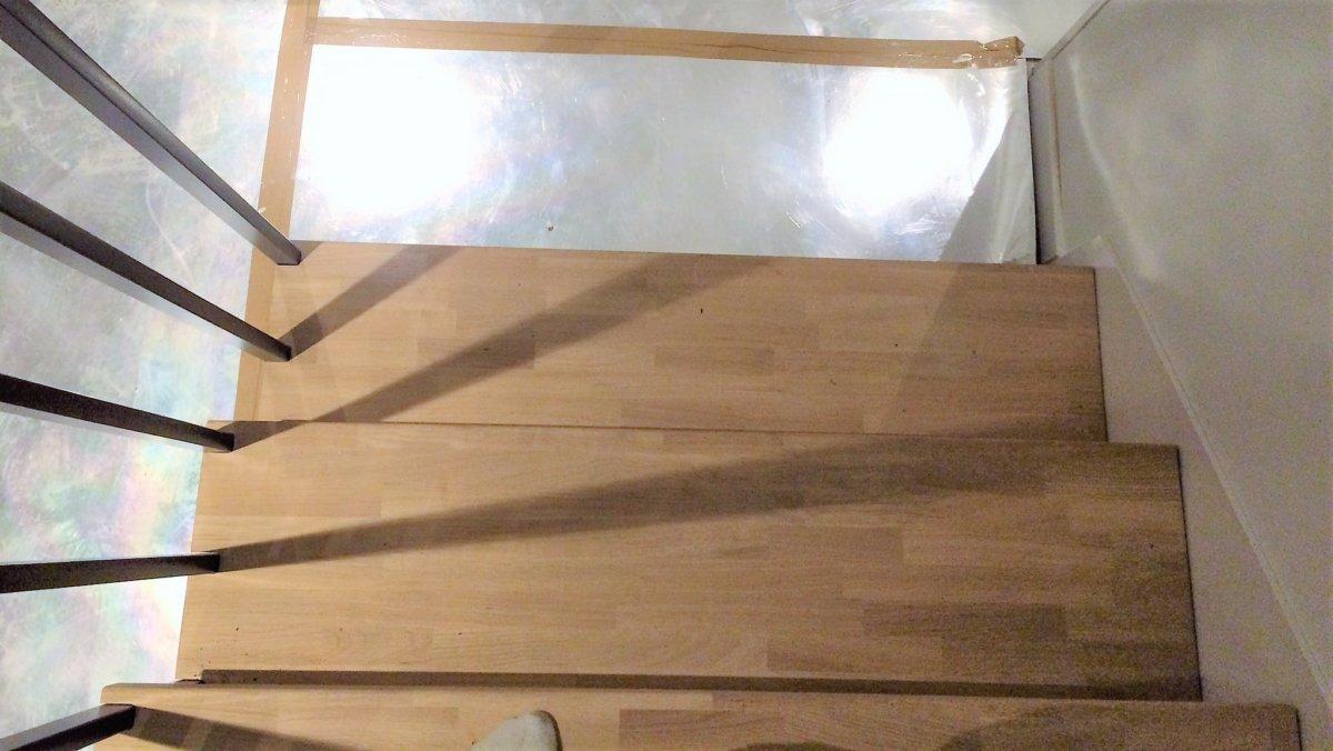 Trappa Södertälje nedgång uppifrån